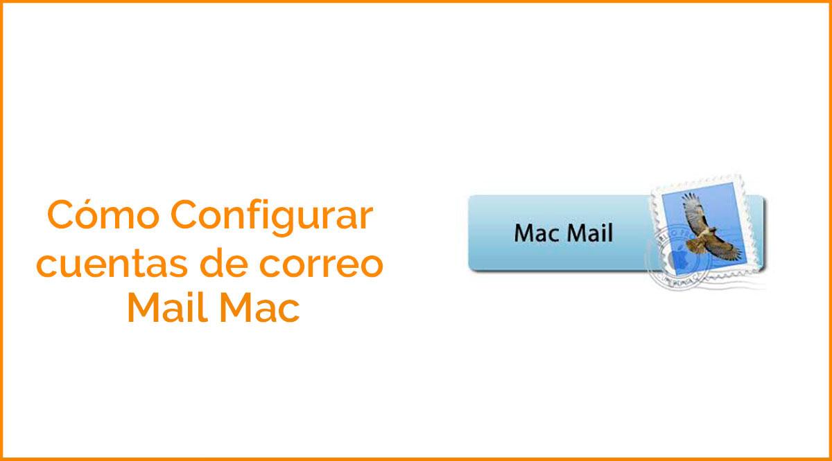 Configurar correos en Mac